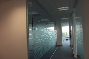 compartimentare perete sticla