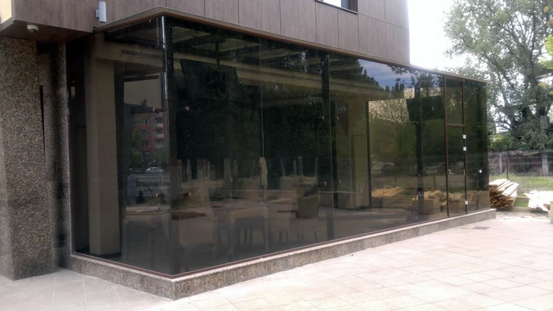 Copertina de sticla